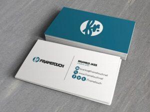 Card visit cá nhân 1 50+ mẫu card visit cá nhân sang trọng, ấn tượng