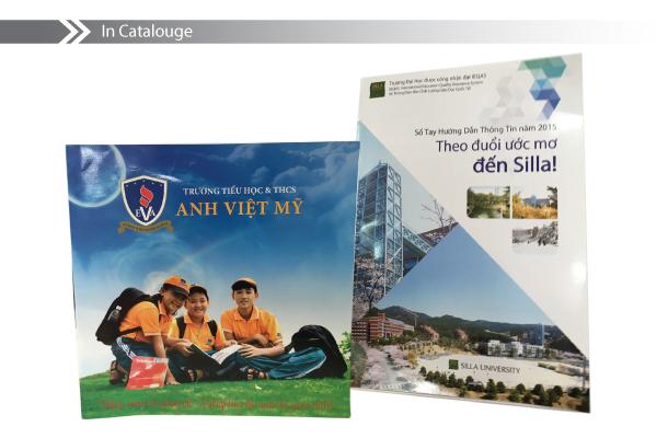 in catalogue giới thiệu nhà trường