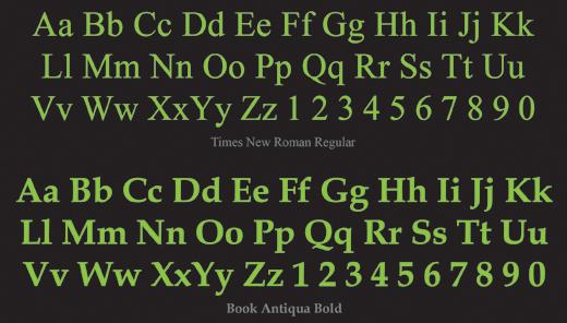 serif font chữ có chân Hướng dẫn phân biệt họ font Serif và Sans-Serif